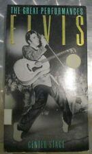 The Great Performances- Volume 1  (VHS 1990)- Elvis Presley***