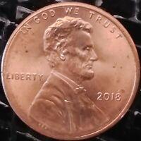 2018 P Lincoln Shield Cent Error Die Break or Crack Thru Liberty Nice Break
