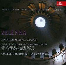 Zelenka: Sepolcri- Cantatas for Holy Sepulchre, New Music