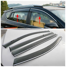 For Kia Sorento 2013 2014 + Window Wind Deflector Visor Rain Sun Guard Vent New