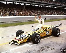 JOHNNY RUTHERFORD 1970 INDY 500 AUTO RACING 8X10 PHOTO