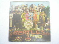 THE BEATLES SGT PEPPERS LONELY HEARTS CLUB PARLOPHONE diff disc LP INDIA 223 VG+