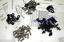 NEW 03 04 CBR600RR SILVER COMPLETE FAIRING BOLTS KIT US