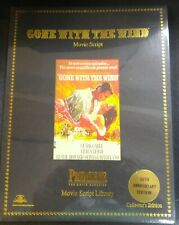 """""""Gone With The Wind"""" Premiere movie script SEALED!!"""