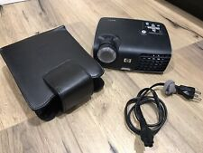 HP Hewlett Packard MP2210 Projector + Power Cable + Carrying Case