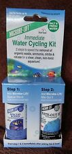 MICROBE-LIFT 2 Step Immediate Water Cycling Kit FRESH & SALT AQUARIUM up 20 gal