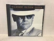 (BW) Classic Elton John - McDonald's Children's Charities Promo CD (S21-17955)