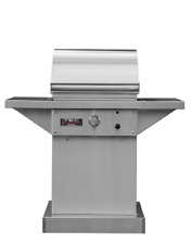 "TEC Sterling 26"" Propane Gas Grill On Stainless Steel Pedestal STPFR1LPPED"