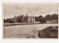 Burghley House & Lake Stamford 1937 RP Postcard 323a