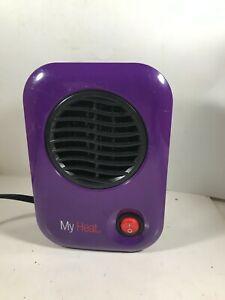 Purple LASKO My Heat Model 106 Personal Heater