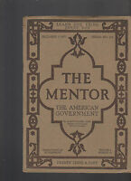 Mentor Magazine December 1 1917 The American Government #144