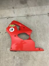 00-02 KAWASAKI ZX6R ZX600J LEFT SIDE LOWER FAIRING COWL OEM 55028-1402-B1
