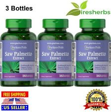 SAW PALMETTO EXTRACT PROSTATE URINARY HEALTH SUPPORT HERB SUPPLEMENT 540Softgels