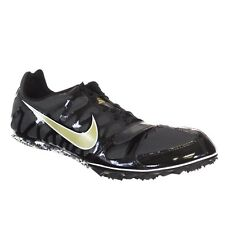 on sale 9ceeb d4e2c New Mens US Size 8 NIKE ZOOM RIVAL S 6 Track Spikes 456812-071 Black