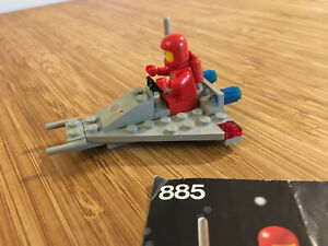 Lego Classic Space Set 885 Space Scooter (1979).