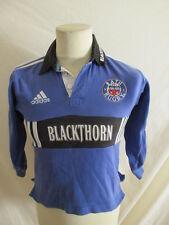 Maillot de rugby vintage BATH Adidas Bleu Taille XXS