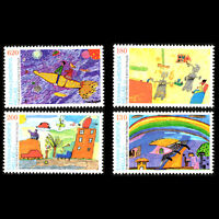 Greece 2000 - International Drawing Contest for Children - Sc 1964/7 MNH