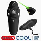 Rechargeable Presentation Clicker Green Laser Pointer Wireless Presenter Remote