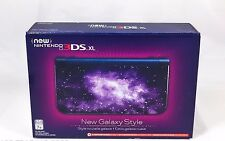 Nintendo New Galaxy Style 3DS XL Console - 3DS XL Edition - (NIB)