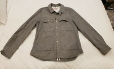 Apolis Global Citizen Denim Chore Coat—Raw Grey denim. Size Xl