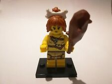 Lego cave woman series 5 choose parts legs torso head hair bone club