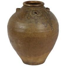 Archaistic Antique Earthenware Storage Vessel, Thailand 15th-18th Century