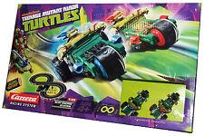 Turtles  2 Car Racing System Slot Racing Track  Leonardo  & Raphael