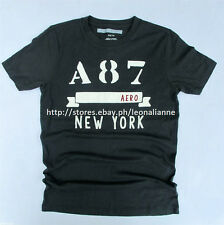 74% OFF!AUTH AEROPOSTALE MEN'S A87 BANNER LOGO GRAPHIC TEE MEDIUM BNEW SRP$24.50