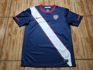 Nike United States USA Soccer Jersey Adult Small Red White Blue Futbol Mens