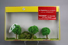 V742 Monber maquette Ho train diorama boite A110 vegetation arbre taille 65 mm