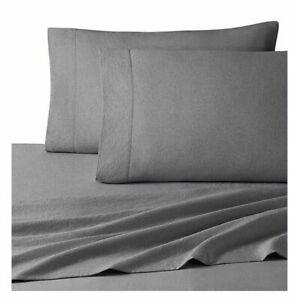UGG Dark Grey Charcoal Devon Bed Sheet Set Twin XL TWIN FULL NEW Your Choice
