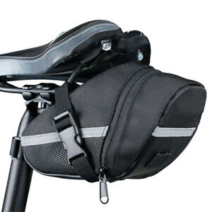 Bicycle Waterproof Storage Saddle Bag Bike Seat Rear Pouch Outdoor Cycling