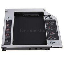 IDE to SATA 2nd HDD SSD HARD DRIVE 12.7mm Universal Caddy CD/DVD-ROM Optical Bay