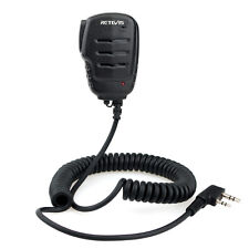 Retevis RS-111 2PIN Remote Speaker Microphone for H777 UV5R RT21 Kenwood TK 208
