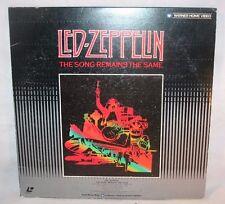 Laserdisc {K} * Led Zeppelin * The Song Remains The Same ~ Japan Disc