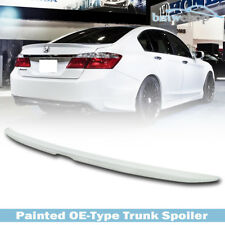 Painted #NH788P For Honda Accord 9th 4D EX OE Type Trunk Spoiler Wing 2013-2017