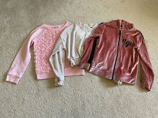 Girls Tops Jumpers x 3 River Island 7-8 Years H&M 6-8 Years George 6-7 Years