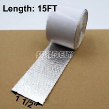 """1.5"""" Aluminum Reinforced Tape Adhesive Backed Heat Shield Resistant Wrap For All"""