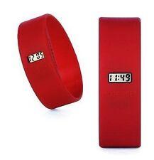 Too Late Uhr Modeuhr von TooLate Rot Red Large Sport Watch Sportuhr Schwimmen