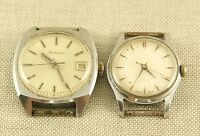 2 Stk. Handaufzug Armbanduhr Uhr Raketa  wrist watch clock swiss 手表