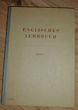Libro di testo inglese. parte 1-il dottor Adolf Lamprecht (popolo e sapere 1954)