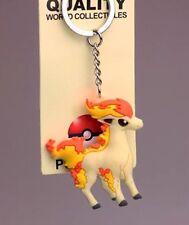 Pokemon Ponyta Rubber Keychain 2 Inches US Seller