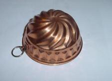 Moule à gâteau cuivre WAGNER / German CAKE MOLD in copper stamped - Ø 9 cm - TBE