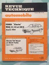 Revue Technique FORD Fiesta 950, 1.1, 1,3 et XR2