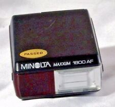 Minolta Maxxum 1800 AF Flash Genuine  - Free Shipping USA
