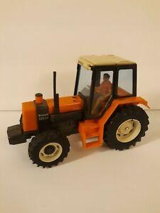 Britains Farm Renault 145-14 Orange Turbo Tractor 1:32 Scale Vintage