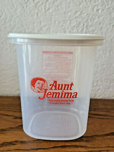 Vintage Jemima Rubbermaid Servin' Saver Six Cup Container