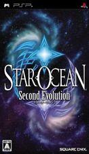 USED PSP  star ocean second evolution sony playstation