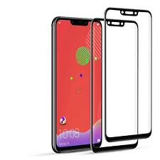 For Huawei Mate 20 Lite Black 5D Tempered Glass Screen Protector Case Friendly