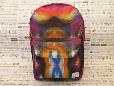 SPIRAL Backpack FEATHER JUNGLE Polyester Rucksack Large Shoulder Carry Bag BNWT